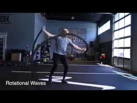 66 Athletic Battle Rope Exercises To Build Your Cardio and Fitness