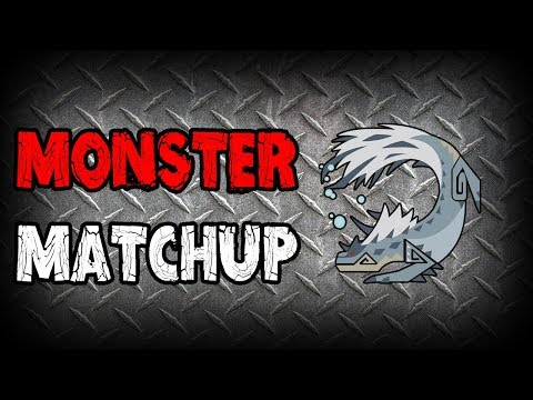 MONSTER MATCHUP - Tobi-Kadachi (Monster Hunter: World)