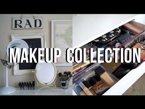Vanity Tour & Makeup Collection 2016