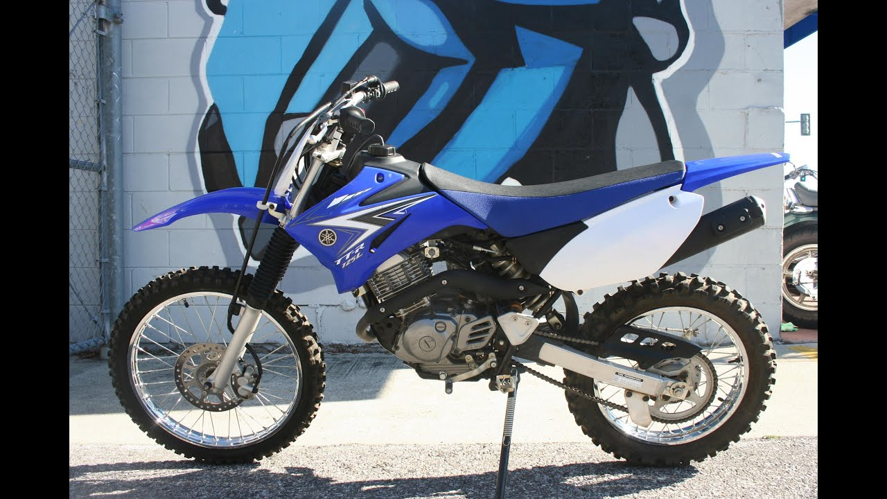 2011 Yamaha TTR125 LE Motorcycle For Sale - YouTube