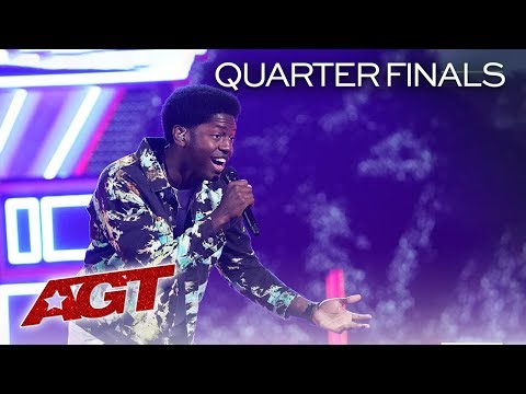 Grab the tissues! Rapper Joseph Allen ('America's Got Talent') performs original song for 'Mama' in 'AGT' live shows [WATCH]