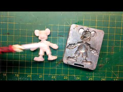 How To Mold HDPE Plastic To Make Parts! Trash to Treasure, Part 3?  From a Creepy Crawler Mold?
