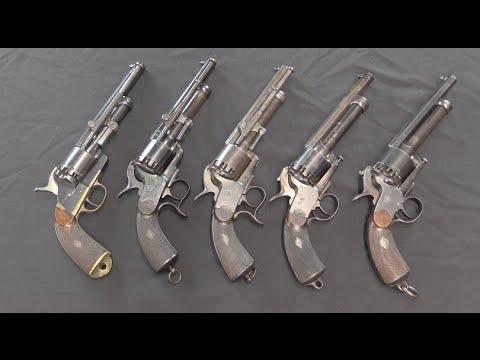 LeMat Grapeshot Revolvers: Design Evolution