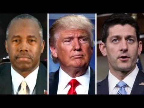 Dr. Ben Carson on Trump's lewd remarks, feud with Paul Ryan