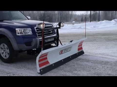 Blizzard Straight Blade 720lt Ford Ranger Youtube