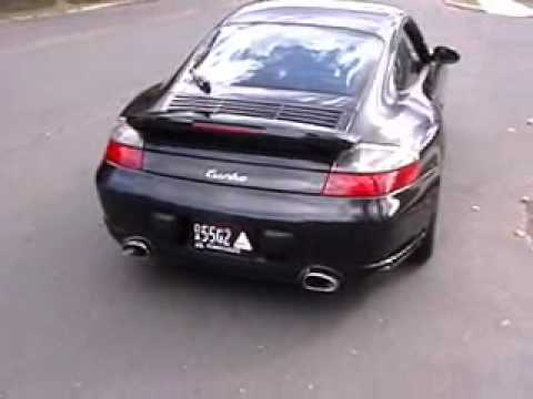Porsche 996 Turbo With Fabspeed Maxflo Performance Exhaust