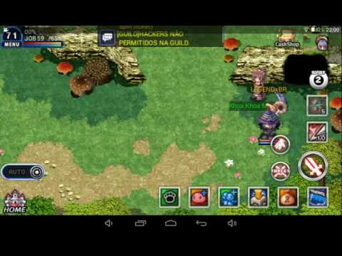 Ragnarok Path Of Heroes Br Lvl Up Easy Youtube