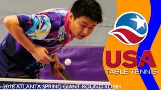 AGTTA 2018 Spring Giant RR   Championship Final   Emmanuel Tuglo vs Jie You   Highlights