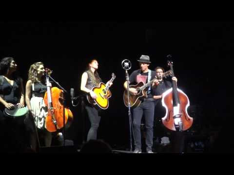 The Remedy And I Won't Give Up Jason Mraz And Raining Jane - Royal Albert Hall September 2014