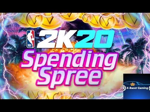 NBA 2K20 200,000 VC Spending Spree!