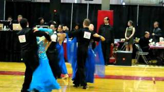 Gold Foxtrot at MIT Open Ballroom Dance Competition 2011_Masha and Alex