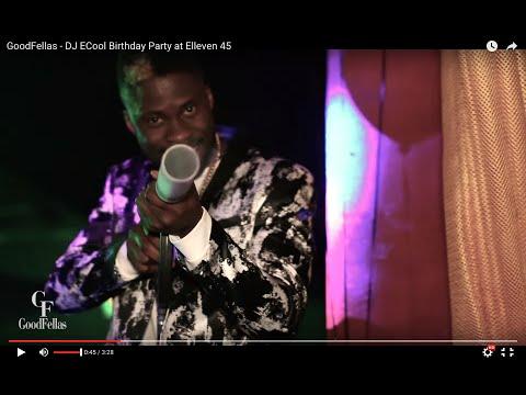GoodFellas Presents DJ ECool Birthday Party at Elleven 45