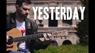 YESTERDAY - my fingerstyle guitar arrangement // Beatles guitar cover