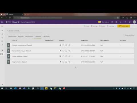 Power BI:  2019 release wave 2 overview