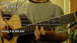 Varlaam Varlaam Vaa from Bairavaa Guitar Tutorial and Sheet Music