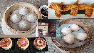 Nhà hàng dimsum Dim Tu Tac: Giá cao nhưng NGON - Rau câu PHÚC LỘC THỌ đẹp rẻ - Hẻm xưa Vinh Khang Cư