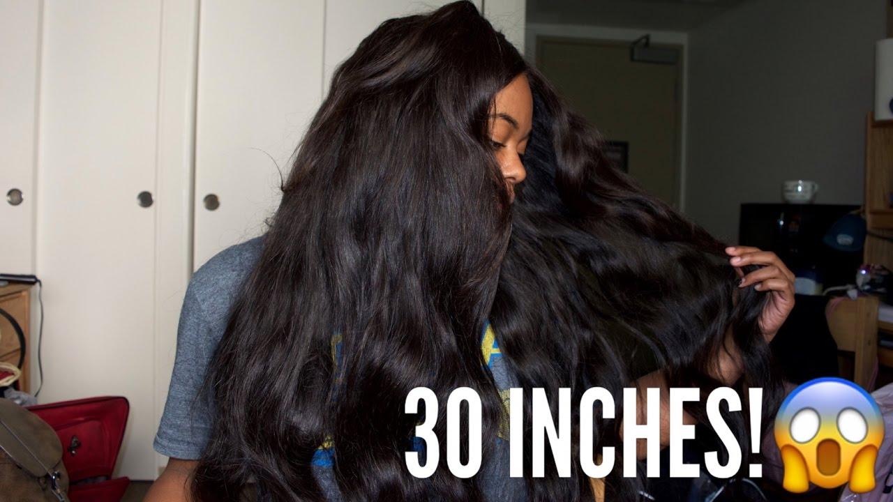 30 Inch Brazilian Body Wave Hair Review Ft VERYHAIR YouTube