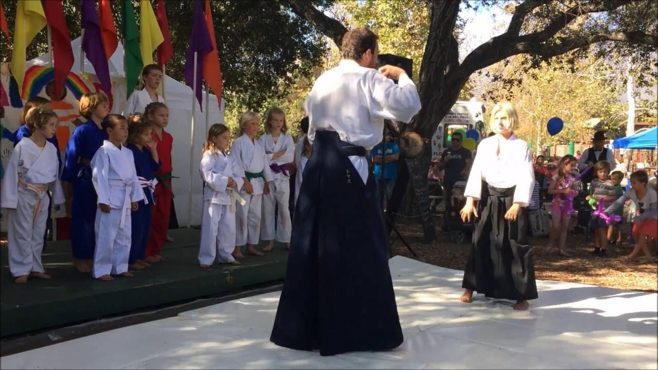living aikido ojai day 2016 - youtube