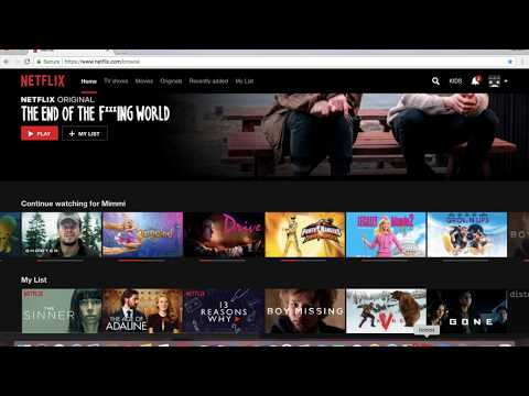 How to delete something on netflix from your continue watching list