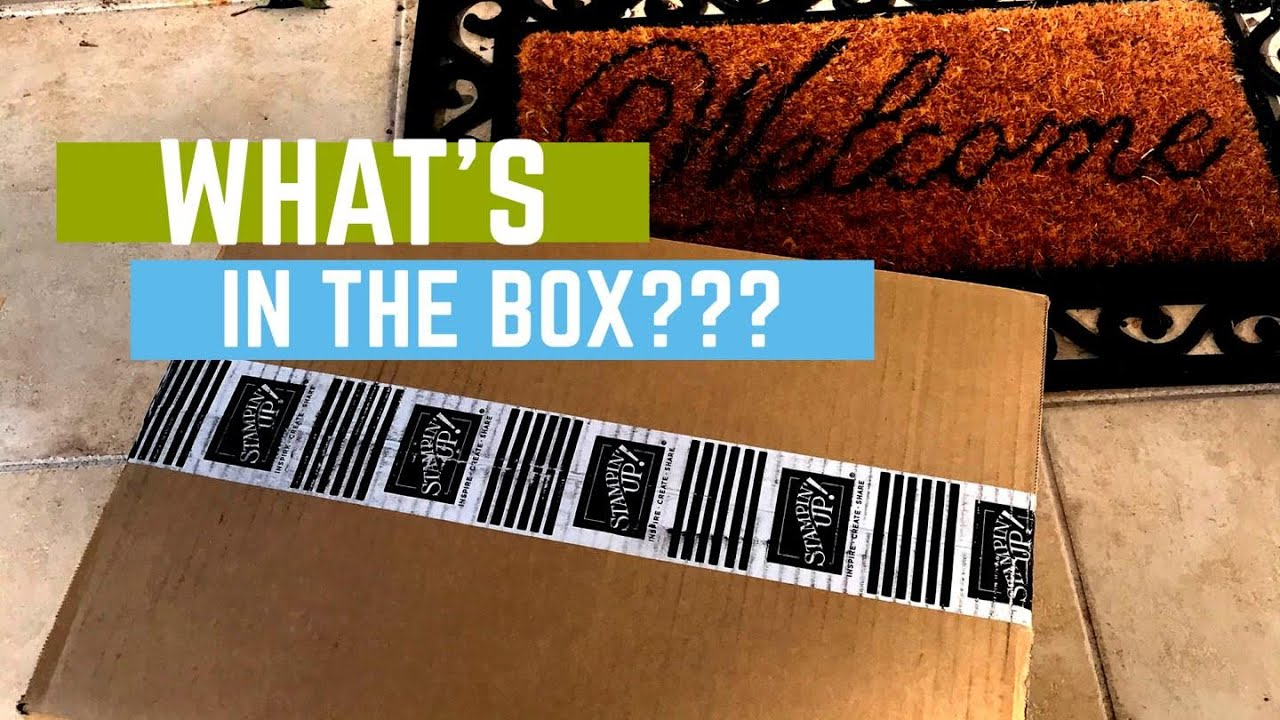What's in the Box??? Brand new Mini Catalog products!