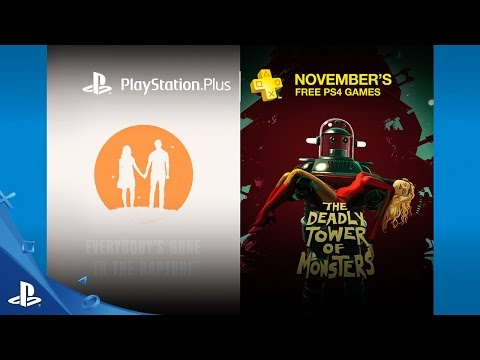 PlayStation Plus - Free PS4 Games Lineup November 2016