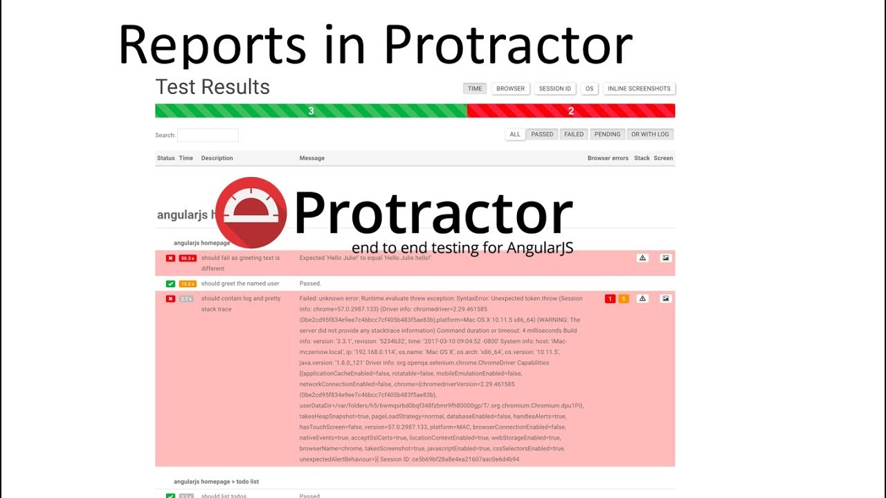 Protractor Tutorial 5- How to Generate Reports in Protractor with Screenshot
