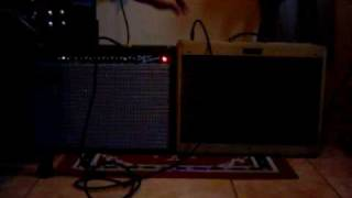 Fender amps comparative 2/4 - Blues Deluxe 90's X Deluxe Reverb '65 Reissue