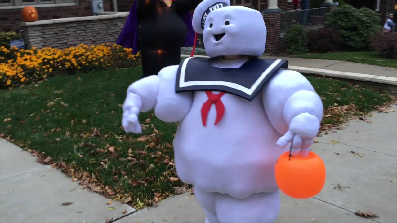 Ghostbusters Stay Puft Costume