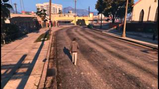 GTA V - Low graphics test // AMD 6400+, ASUS GTX 650 DCU TOP 1Gb
