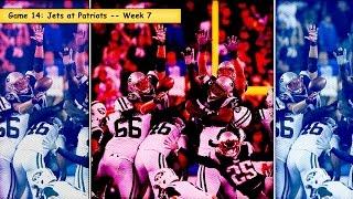 Jets vs. Patriots Week 7 highlights (#14 game in 2014)