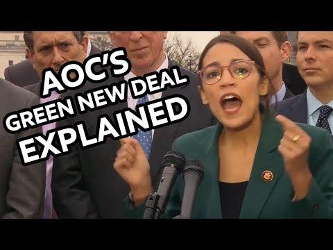 Alexandria Ocasio-Cortez's Green New Deal Explained