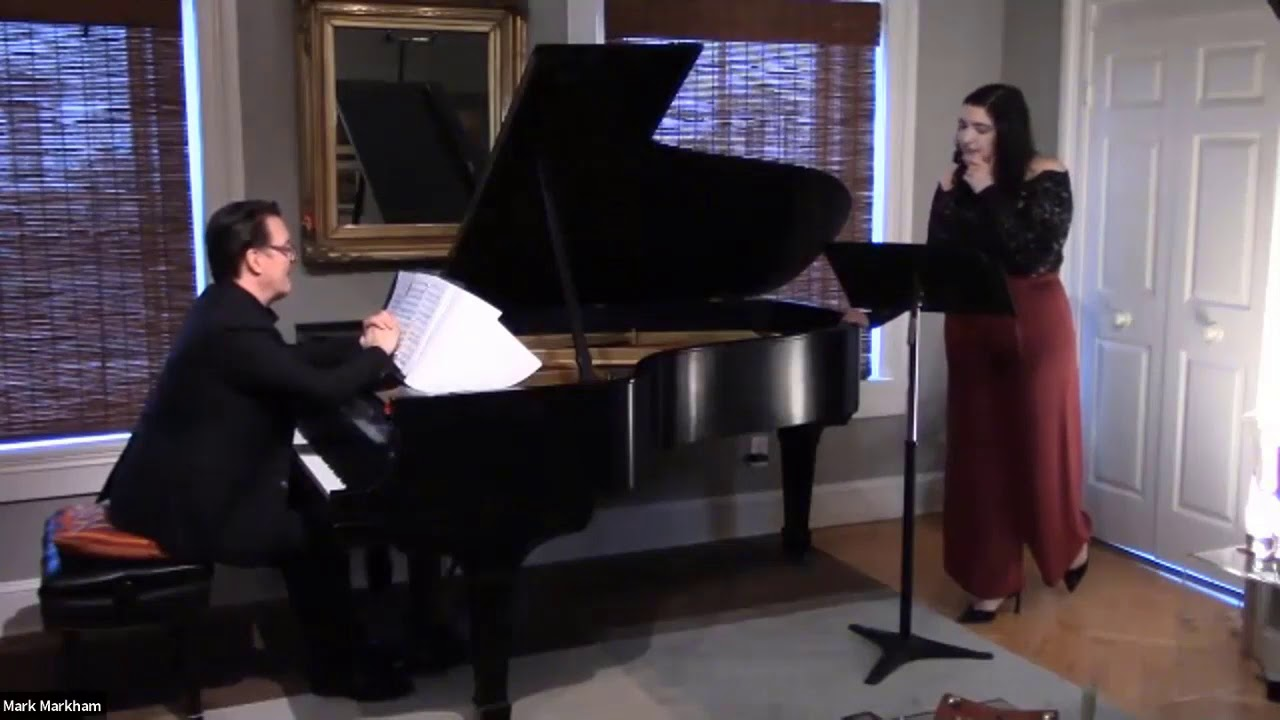 The Elizabeth L  Lawrence Foundation presents Sophia Hunt (soprano) & Mark Markham (pianist)