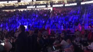 Canelo vs golovkin officially announced! T-Mobile Arena reacts