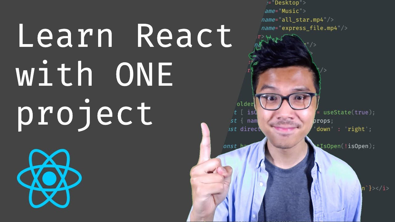 Learn React with One Project - Tutorial