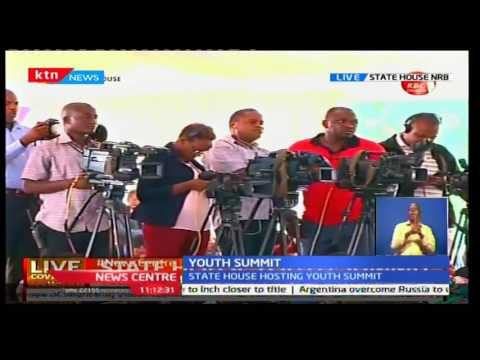 News Centre: President Uhuru challenges Media to focus on Kenya's future not hearsay, 3/10/16