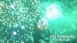 KEi Fireworks 2018 音楽花火【第10回 宝田花火大会 】2018/08/25