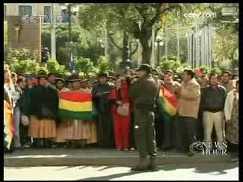 8 killed in Bolivian unrest