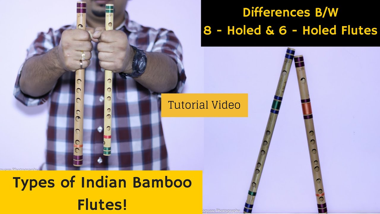 What are the 'Types of Indian Bamboo Flutes'