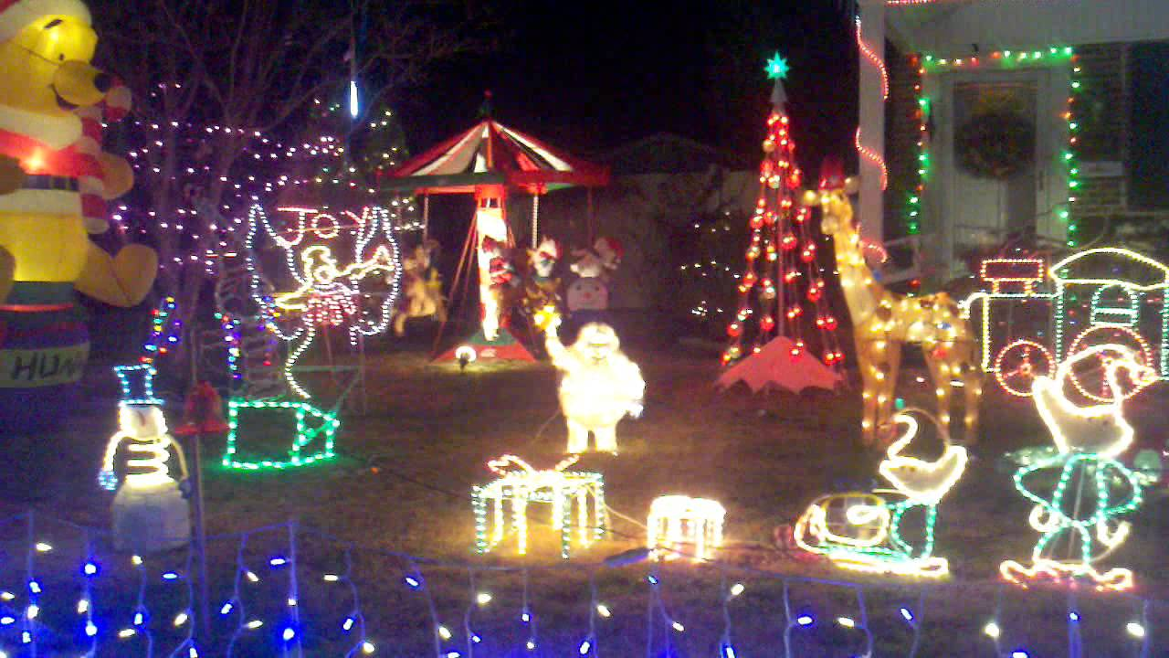 Christmas Lights Drexel Hill - YouTube