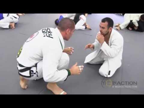 Marcelo Garcia rolling with Rafael Lovato Jr #1