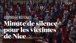 Attaque au couteau à Nice : l'Assemblée nationale observe une minute de silence