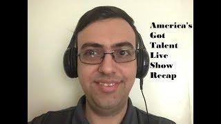 Justin Blvd  Vlogs   AGT Live Show 1 recap + a Couple of Updates