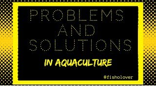 Fisholover Issue #001 - Promoting sustainable aquaculture | Solutions for anti-aquaculture claims