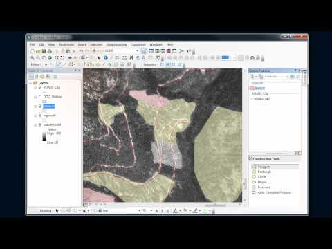 ArcMap - Editing #4 - Polygons and tracing