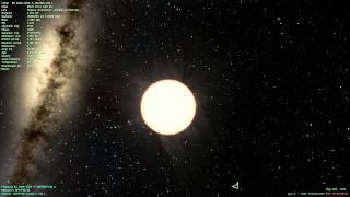Sun Corona & Zoom out of Galaxy