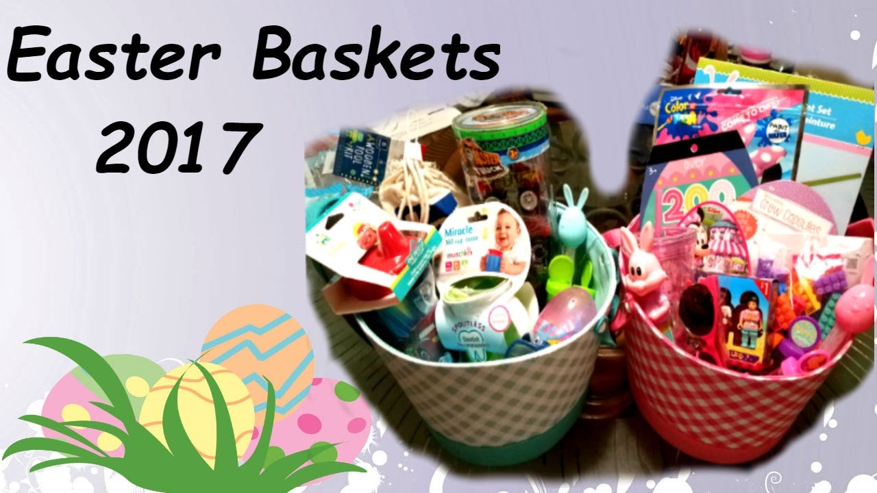 Whats in my kids easter baskets 2017 what i got my kids 11 whats in my kids easter baskets 2017 what i got my kids 11 months 3 years old negle Image collections