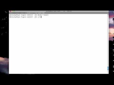 Basic Linux/Unix File Manipluation (cmd line tutorial)