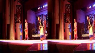 Sarawak Malaysia Cultural Dance Part 1 in 3D