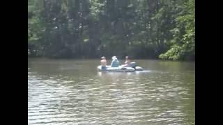 Отдых.Рыбалка.Девушки за рулём моторной лодки!Часть вторая-возвращение в гавань.(, 2016-06-27T16:10:13.000Z)