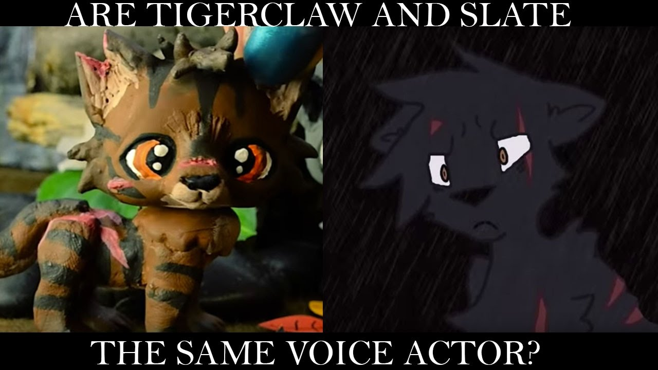 Are Slate And Tigerclaw The Same Voice Actor Youtube